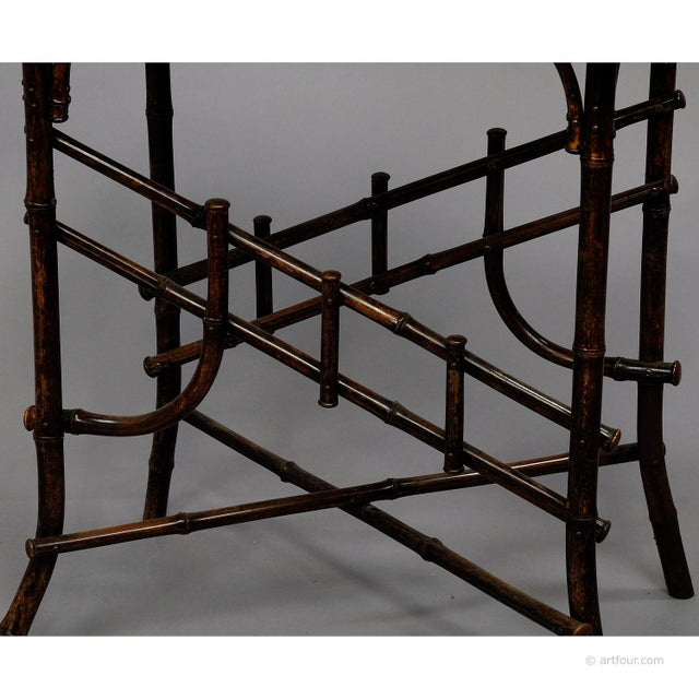 An Asian Inspired Set Of Bamboo Furniture Ca. 1930ties For Sale - Image 9 of 13