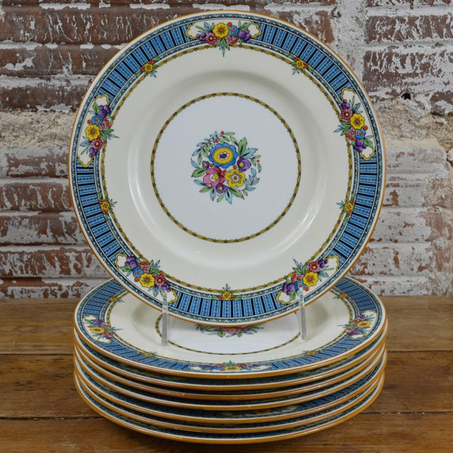 Vintage Minton Luncheon Plates - Set of 8 - Image 11 of 11