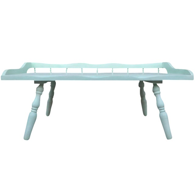 Shabby Chic Painted Farmhouse Style Coffee Table - Image 1 of 10