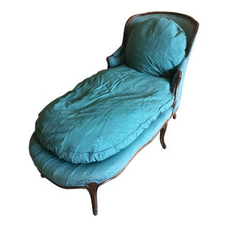 French Louis XVI Style Chaise Lounge For Sale