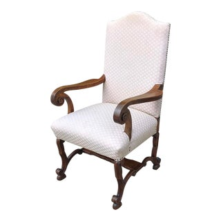Antique French Louis XIV Armchair For Sale