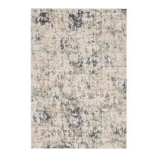 Jaipur Living Arvo Abstract White Dark Gray Area Rug 6'X9' For Sale