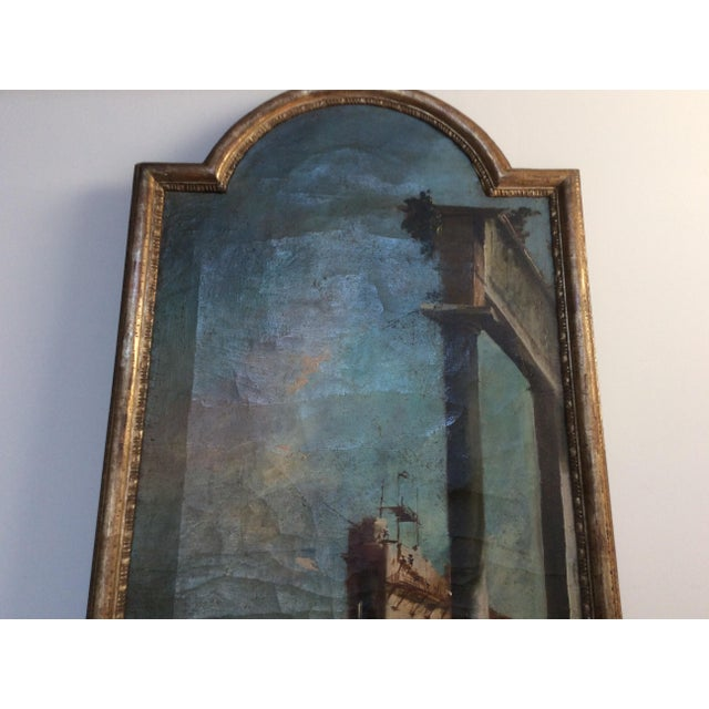 18th Century Italian Guardi Style Painting For Sale - Image 4 of 11