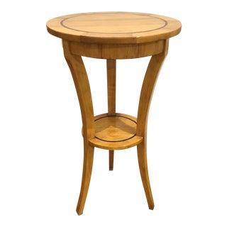 Modern Custom High Top Blonde Wood Bistro Table For Sale