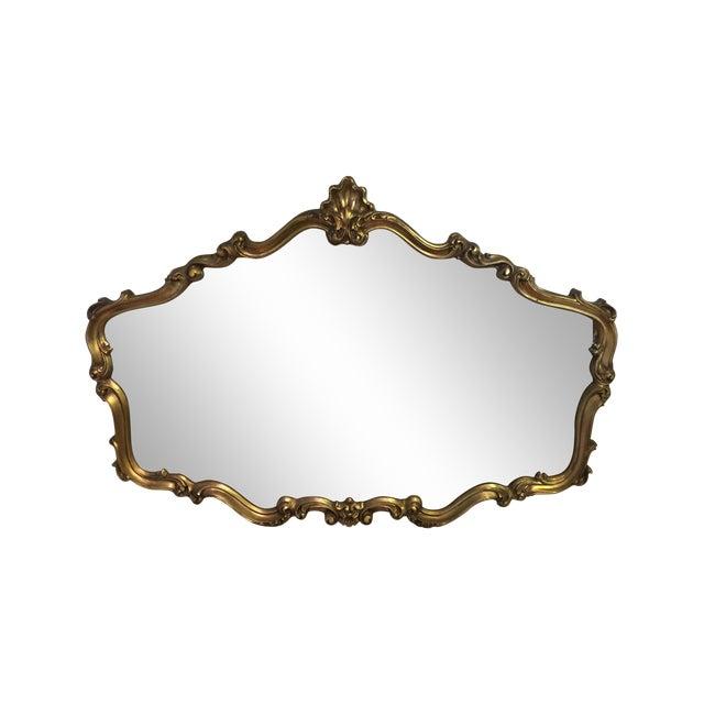 Hollywood Regency Gilt Mirror - Image 1 of 7