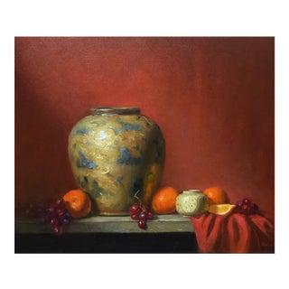 Old Vase Original Oil Painting For Sale