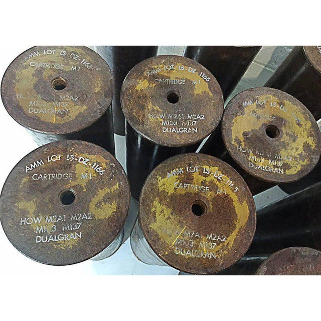 Vietnam Era Howitzer Shell Castings, 1968 For Sale In Los Angeles - Image 6 of 7