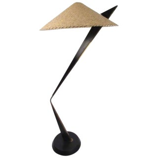Mid-Century Italian Modern Sculptural Floor Lamp For Sale