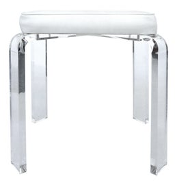 Image of Lucite Low Stools