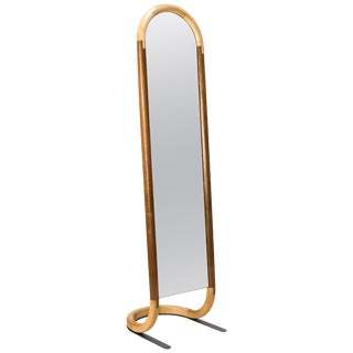 Standing Halo Mirror by Birnam Wood Studio For Sale