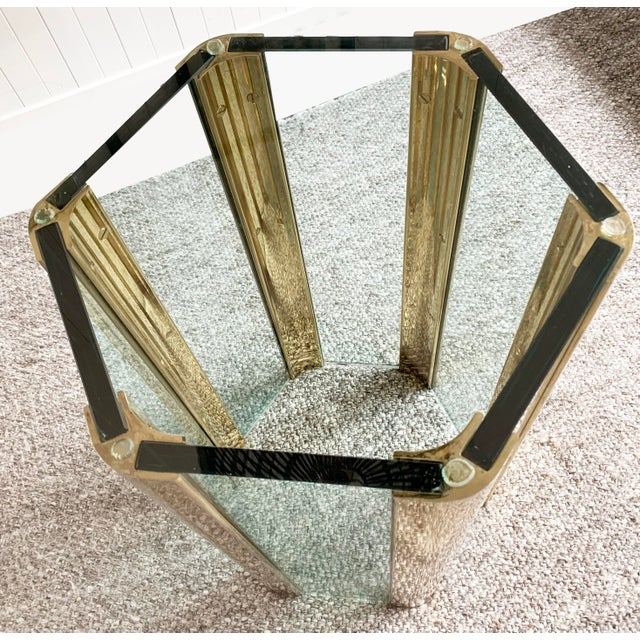 Mid-Century Modern Hexagonal Dining Table by Leon Rosen for Pace For Sale - Image 3 of 10