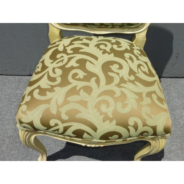 Karges Louis XV Style Dining Chairs - Set of 8 - Image 8 of 11