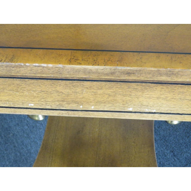 Pair of Regency Style End Tables For Sale - Image 10 of 13