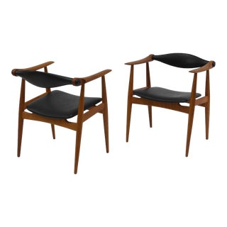 Pair ofHans Wegner Ch34 Chairs For Sale