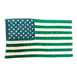 Rare 1968 Counter Culture Ecology Flag For Sale