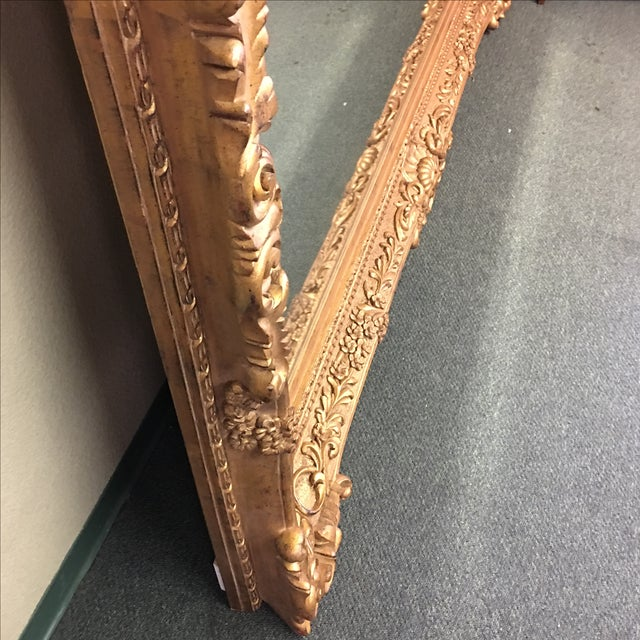 Carved Gilt Wall Mirror - Image 8 of 10