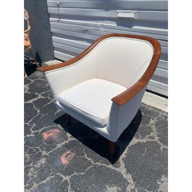 1960s Mid Century Modern Peter Hvidt and Orla Mølgaard for John Stuart Lounge Chair For Sale - Image 5 of 12