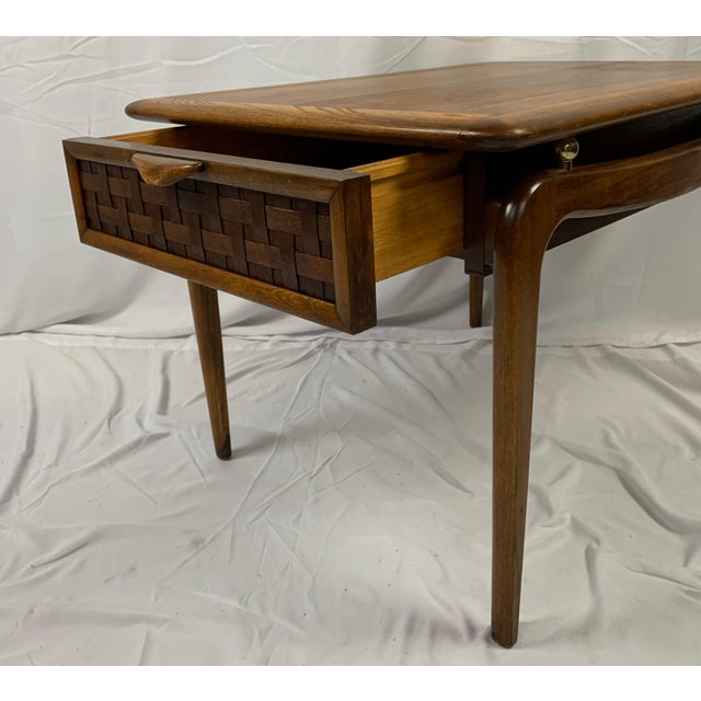 1960s 1960s Lane Perception Walnut End Table For Sale - Image 5 of 8