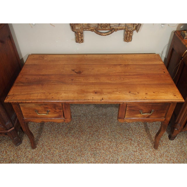 Gold 19th Century French Writing Desk For Sale - Image 8 of 9