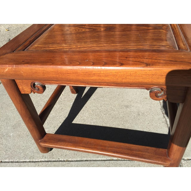 Antique Asian Tea Table Chairs - Set of 4 For Sale - Image 10 of 12