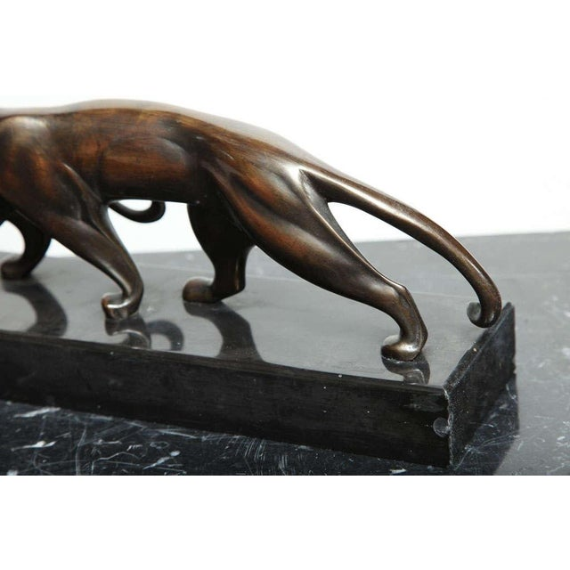 Art Deco Bronze Panther Group by Michel Decoux For Sale In New York - Image 6 of 10