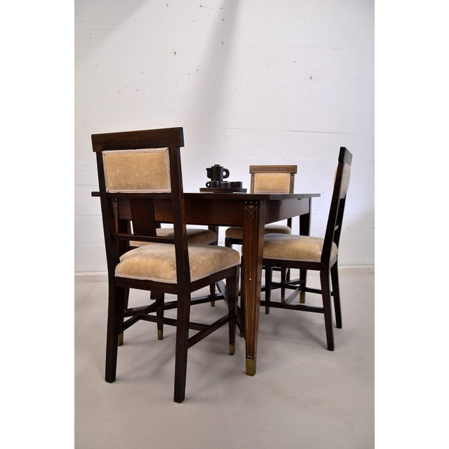 Art Nouveau Dining Set For Sale - Image 4 of 13
