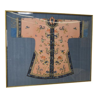 Vintage Asian Japanese or Chinese Framed Kimono