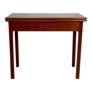 Mahogany Tea Table, England 19th Century For Sale
