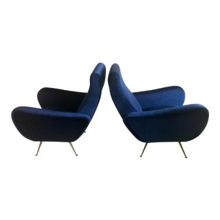 Marco Zanuso Style Italian-Made Chairs - A Pair