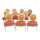 Image of Vintage Side Chairs - Set of 10 For Sale