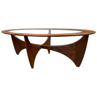 """Vintage Mid Century Modern Teak """"Astro"""" Coffee Table by G Plan For Sale"""
