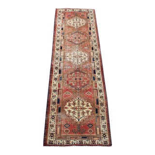 Antique Southwestern Persian Runner - 2'10''x 10'5'' For Sale