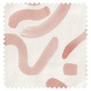 Sample - Pepper Hockney in Pink Fabric For Sale