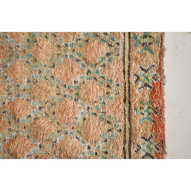 Beni Mguild Vintage Moroccan Rug - 6′3″ × 9′5″ For Sale In Washington DC - Image 6 of 9