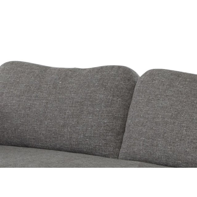Contemporary Gray Pippa Sofa For Sale In San Francisco - Image 6 of 8
