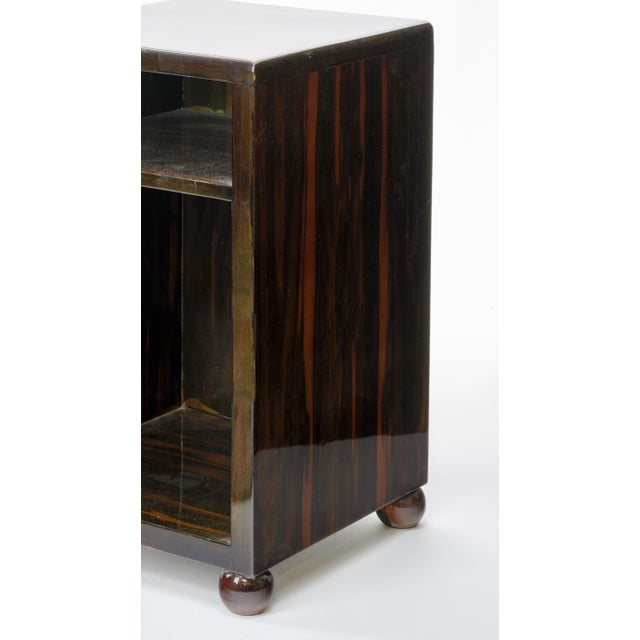 Art Deco Art Deco Superb Macassar Side Table For Sale - Image 3 of 4