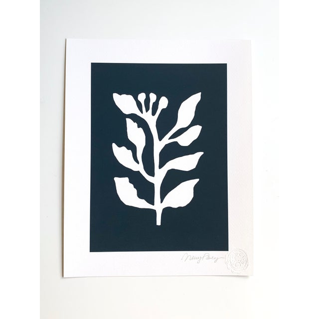 I created the Sunprints collection based on the imagery of botanical cyanotype prints. The white organic shapes on the...