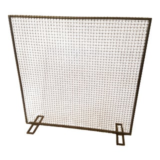 CB2 Fireplace Screen
