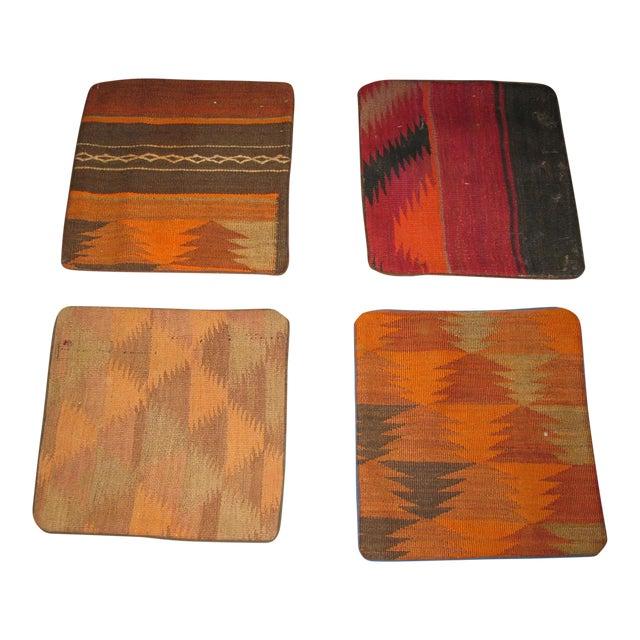 Vintage Afgan Kilim Pillow Cases For Sale