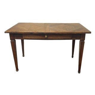 French Parquetry Top Table