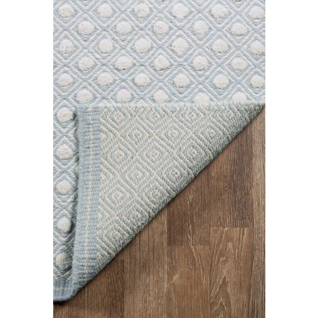 Modern Erin Gates by Momeni Langdon Windsor Blue Hand Woven Wool Area Rug - 5' X 8' For Sale - Image 3 of 6