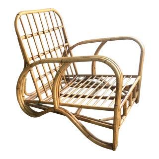 Mid-Century Modern Bamboo Club Chair