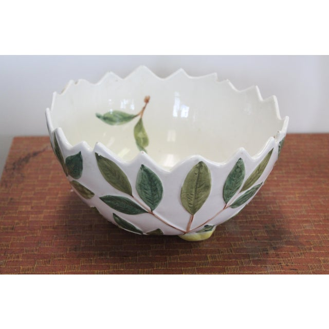 Jagged Lemon Bowl For Sale In New York - Image 6 of 6
