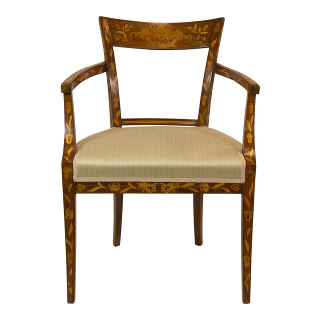 1920's French Armchair With Inlay - Image 1 of 7