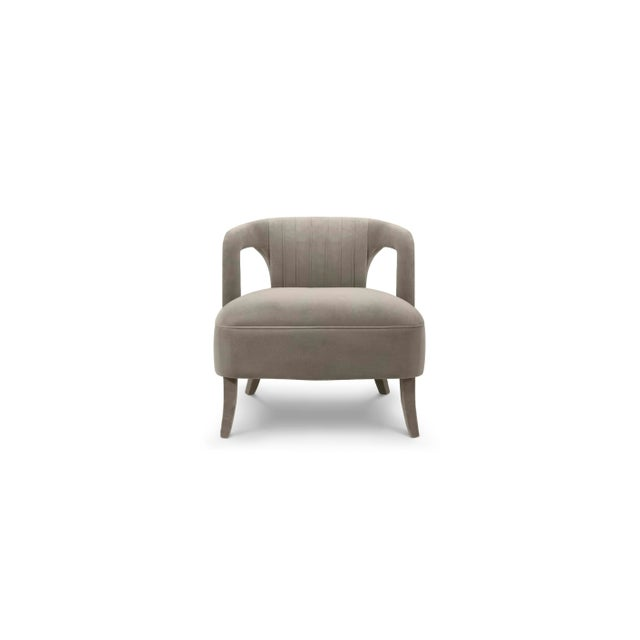 Textile Covet Paris Karoo Armchair For Sale - Image 7 of 7