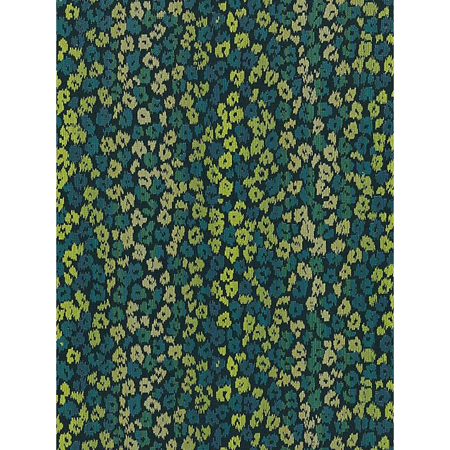 Scalamandre Bloom, Peacock Fabric For Sale