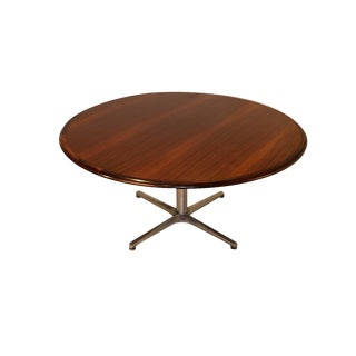 Mid Century Danish Rosewood Coffee Table Skovmand & Andersen Moreddi For Sale
