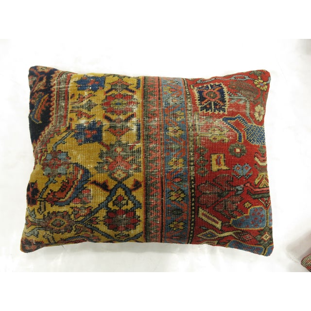 Mahal Rug Pillow For Sale - Image 4 of 4
