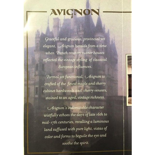 Bernhardt Avignon Large Landscape Mirror For Sale - Image 10 of 11