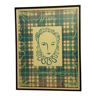 1978 Mary Queen of Scots Theater Poster